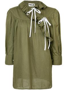 крестьянская блузка с рюшами Hache