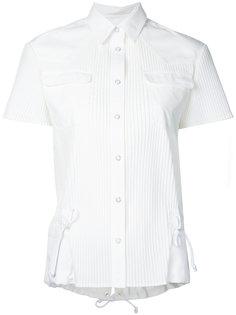 рубашка плиссе  Sacai
