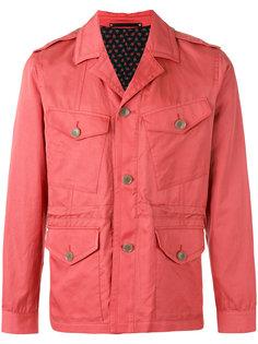 куртка-рубашка с карманами карго Paul Smith