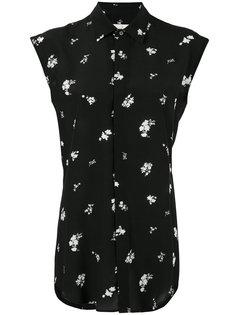 рубашка без рукавов с цветочным принтом Golden Goose Deluxe Brand