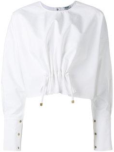 блузка с присборенным передом Kenzo