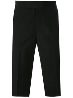 классические шорты с необработанным подолом Yang Li