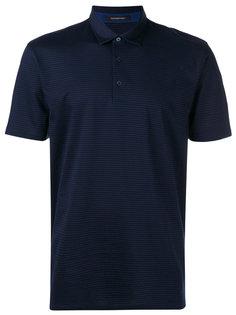 рубашка-поло с узором из крестов Z Zegna