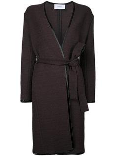 пальто с поясом Astraet
