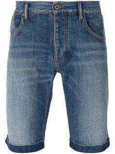 джинсовые шорты кроя слим Armani Jeans