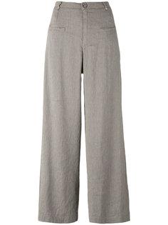 широкие укороченные брюки  Transit