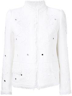 декорированный пиджак Roberto Cavalli