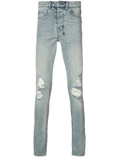 равные джинсы скинни Ksubi