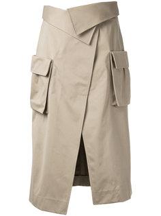 юбка со шлицей спереди Monse