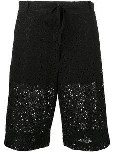 удлиненные шорты с цветочным узором 6397