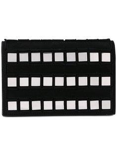 клатч с квадратными заклепками Tomasini