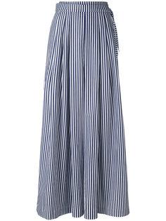 полосатые широкие брюки Federica Tosi