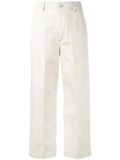 укороченные брюки прямого кроя Golden Goose Deluxe Brand