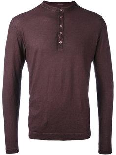 buttoned sweatshirt Massimo Alba