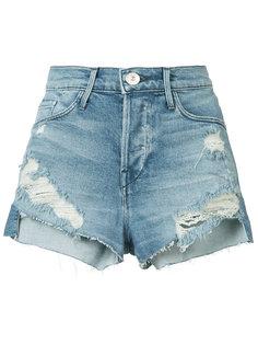 рваные джинсовые шорты 3X1