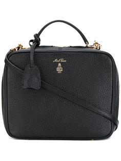 прямоугольная сумка с логотипом Mark Cross