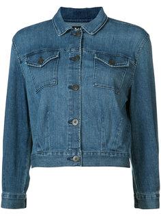 укороченная джинсовая куртка 3X1