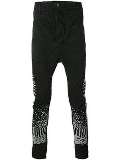 джинсы кроя слим с вышивкой 11 By Boris Bidjan Saberi