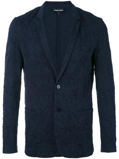 пиджак с карманами с листочкой Emporio Armani