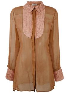 полупрозрачная блузка Valentino