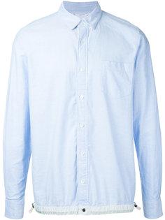 рубашка со стяжкой на подоле Sacai