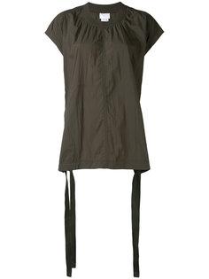 топ свободного кроя с завязками DKNY