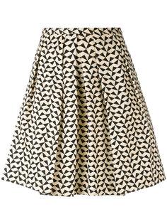 юбка с принтом треугольников  Eggs