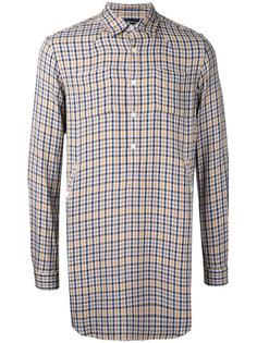 checked longline shirt Undercover