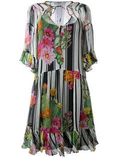 платье с цветочным рисунком Blugirl