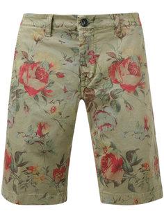 шорты с цветочным принтом Re-Hash