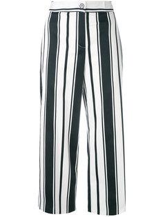 широкие полосатые брюки Blugirl