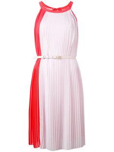 плиссированное платье без рукавов Blumarine