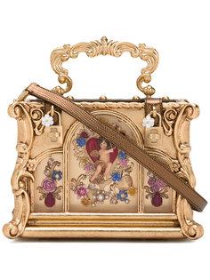 клатч-бокс с фигурками Dolce & Gabbana
