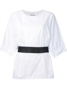 блузка с ремнем на талии Maticevski