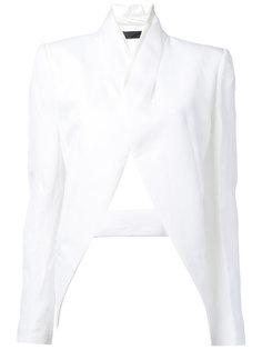 пиджак с вырезом  Haider Ackermann