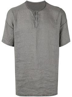футболка с круглым вырезом на пуговицах  Transit