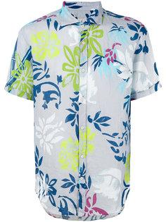 рубашка с цветочным принтом Drumohr