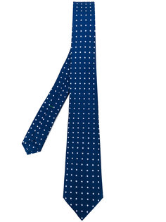галстук с узором из звезд Borrelli
