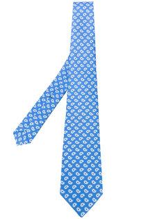 """галстук с принтом """"пейсли"""" Borrelli"""