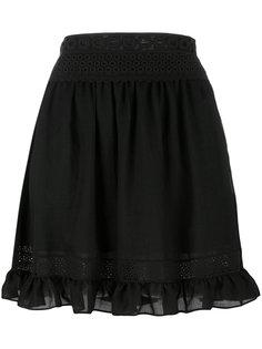 короткая юбка с вышивкой McQ Alexander McQueen