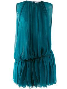 платье с присборенными складками  Gianluca Capannolo