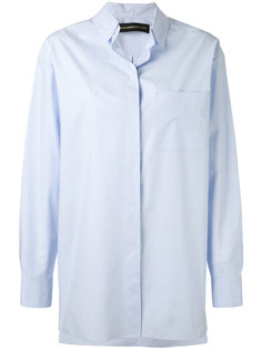 concealed fastening shirt Alexandre Vauthier