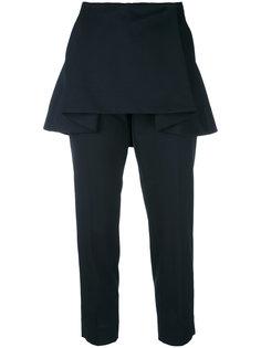 брюки с накладной панелью с оборками Dorothee Schumacher