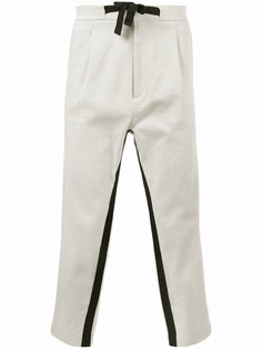 укороченные брюки с лампасами Var/City