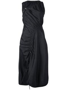 платье асимметричного кроя Versace