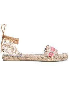 плетеные сандалии Manebi