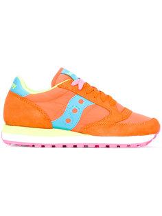 кроссовки с панельным дизайном и шнуровкой Saucony