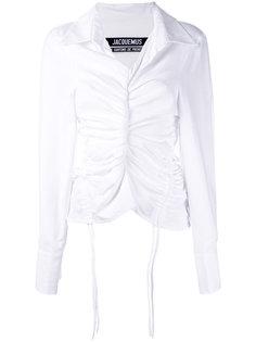 присборенная рубашка с завязками Jacquemus