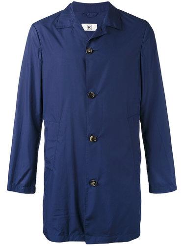 однобортное пальто Kiton