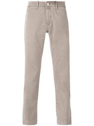брюки кроя слим Jacob Cohen